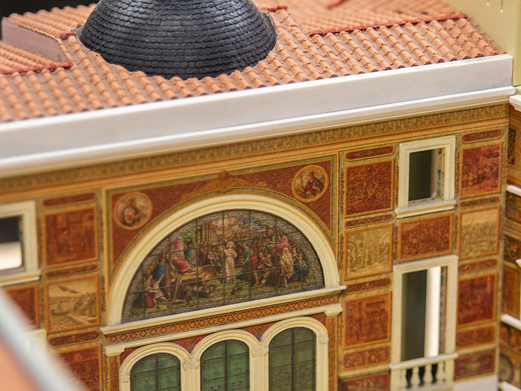 Palace dome